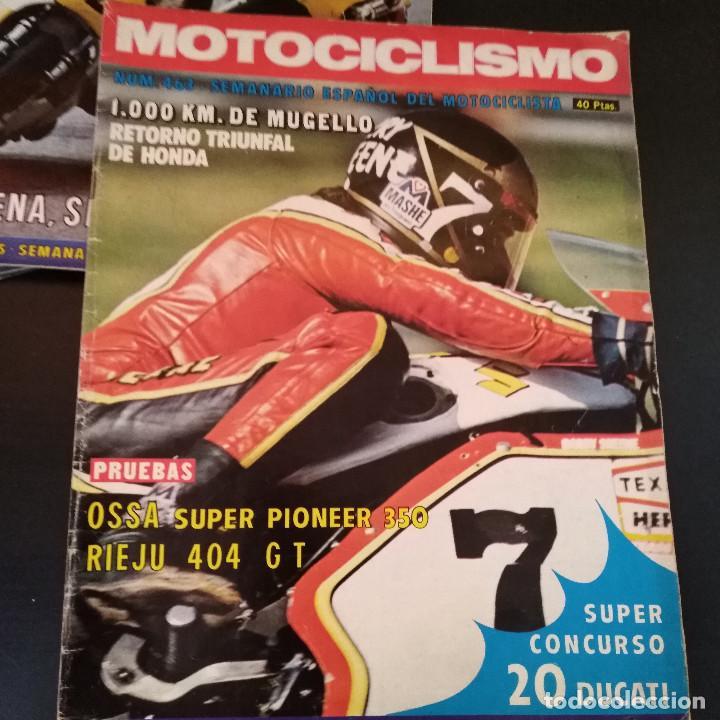 Coches y Motocicletas: Lote 20 Revistas Motociclismo 1976 Nº444 - 482 - Muy Raras - Nieto - Motos - Foto 25 - 169059700