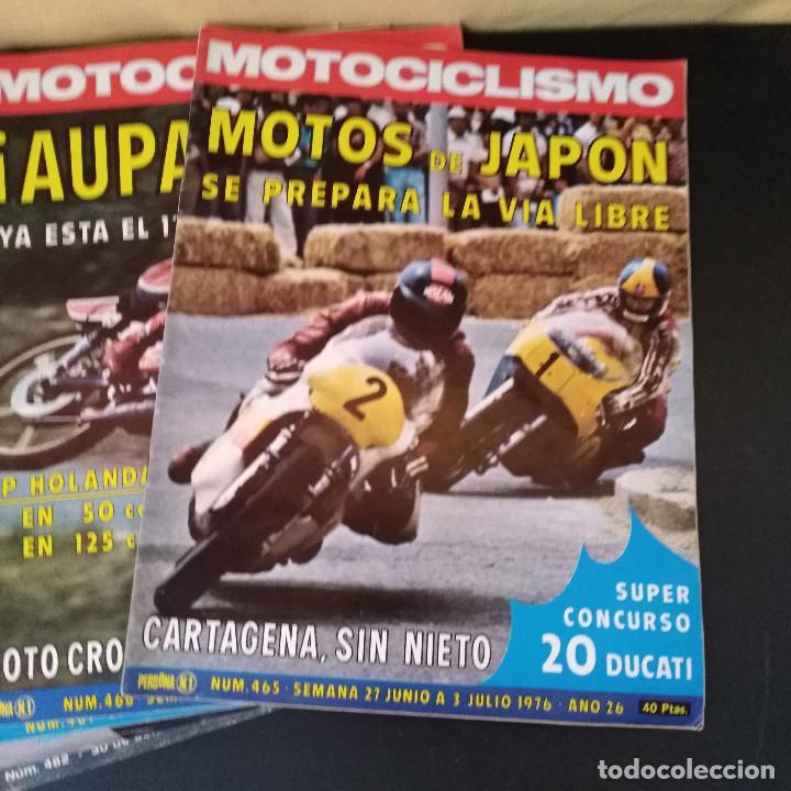 Coches y Motocicletas: Lote 20 Revistas Motociclismo 1976 Nº444 - 482 - Muy Raras - Nieto - Motos - Foto 26 - 169059700