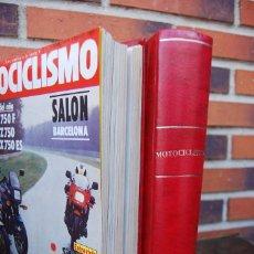 Coches y Motocicletas: LOTE DE 32 REVISTAS MOTOCICLISMO ENCUADERNADAS EN 2 VOLUMES AÑO 1983. Lote 169358200