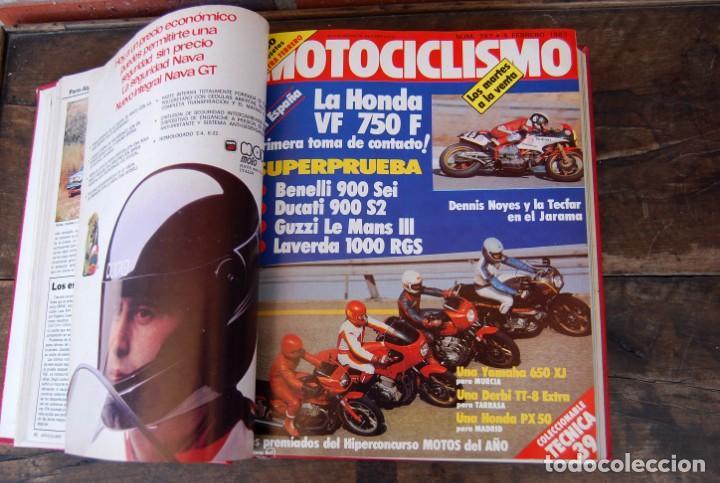 Coches y Motocicletas: LOTE DE 32 REVISTAS MOTOCICLISMO ENCUADERNADAS EN 2 VOLUMES AÑO 1983 - Foto 6 - 169358200