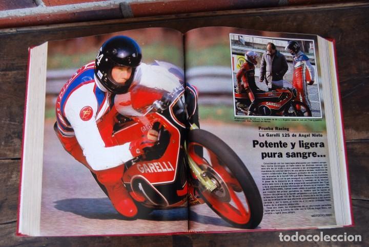 Coches y Motocicletas: LOTE DE 32 REVISTAS MOTOCICLISMO ENCUADERNADAS EN 2 VOLUMES AÑO 1983 - Foto 10 - 169358200