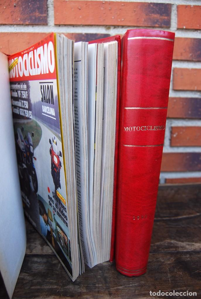 Coches y Motocicletas: LOTE DE 32 REVISTAS MOTOCICLISMO ENCUADERNADAS EN 2 VOLUMES AÑO 1983 - Foto 14 - 169358200