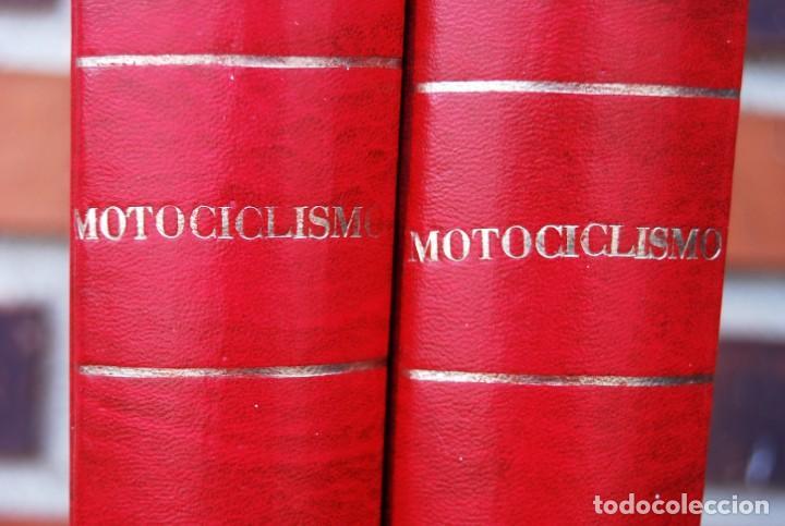 Coches y Motocicletas: LOTE DE 32 REVISTAS MOTOCICLISMO ENCUADERNADAS EN 2 VOLUMES AÑO 1983 - Foto 18 - 169358200