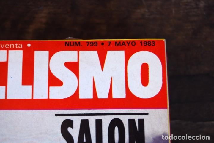 Coches y Motocicletas: LOTE DE 32 REVISTAS MOTOCICLISMO ENCUADERNADAS EN 2 VOLUMES AÑO 1983 - Foto 19 - 169358200