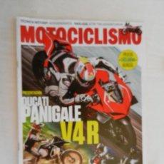 Coches y Motocicletas: MOTOCICLISMO REVISTA TO PARA TI Y PARA TU MOTO Nº 2569 01-2019 DUCATI PANIGALE V4R. Lote 169438436