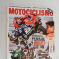 Coches y Motocicletas: MOTOCICLISMO , TODO PARA TI Y TU MOTO Nº 2571- 02-2019 YAMAHA Y DUCATI VUELAN . Lote 169438876