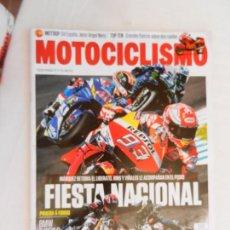 Coches y Motocicletas: MOTOCICLISMO , TODO PARA TI Y TU MOTO Nº 2577- 05-2019 MARQUEZ RETOMA EL LIDERATO . Lote 169439084