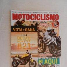 Coches y Motocicletas: MOTOCICLISMO , TODO PARA TI Y TU MOTO Nº 2542 -12-2017 TIGER 1200 XCA , KAWASAKI Z900RS. Lote 169439672