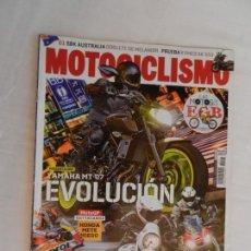 Coches y Motocicletas: MOTOCICLISMO , TODO PARA TI Y TU MOTO Nº 2547 -03-2018 YAMAHA MT-07 EVOLUCION . Lote 169439828