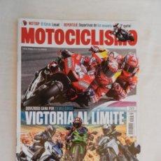 Coches y Motocicletas: MOTOCICLISMO , TODO PARA TI Y TU MOTO Nº 2573 -03-2019 DOVIZIOSO GANA POR 23 MILESIMAS . Lote 169440052