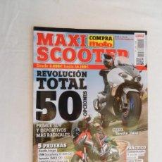 Coches y Motocicletas: MAXI SCOOTER REVISTA Nº 5 - 2017 PRIMER SUV Y DEPORTIVOS MAS RADICALES . Lote 169441592