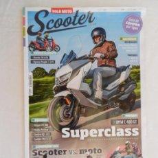 Coches y Motocicletas: SCOOTER , SOLO MOTO , REVISTA Nº 184 -2019 SUPERCLASS . Lote 169442472
