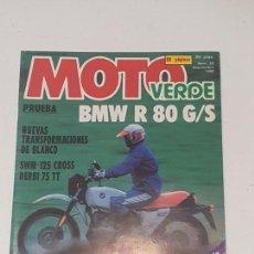 Coches y Motocicletas: MOTO VERDE . Nº 26 . BMW 80 GS. Lote 169729104