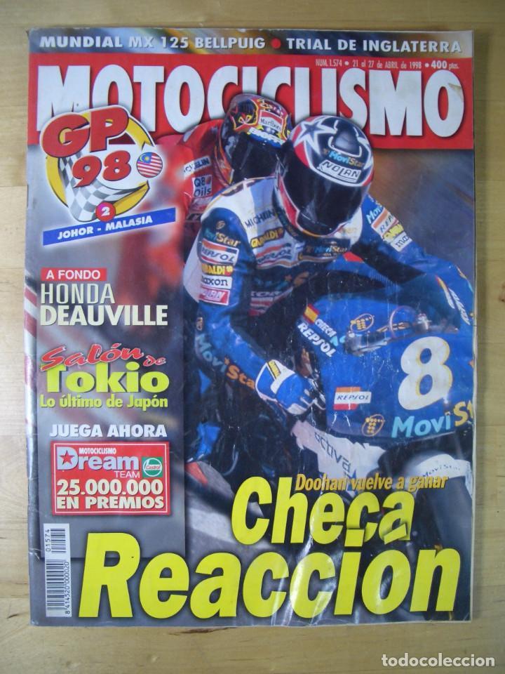 Coches y Motocicletas: Sueltas o LOTE 16 REVISTAS MOTOCICLISMO Y SOLO MOTO REVISTA MOTOS 96 - 97 - 98 - 2001 - 2002 - Foto 2 - 179313526