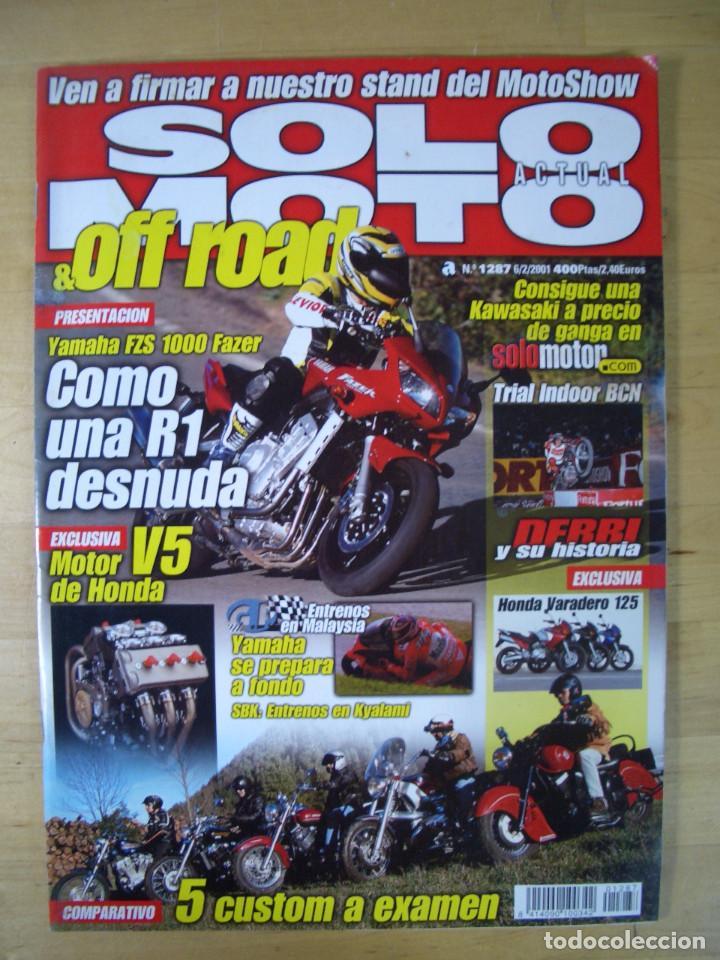 Coches y Motocicletas: Sueltas o LOTE 16 REVISTAS MOTOCICLISMO Y SOLO MOTO REVISTA MOTOS 96 - 97 - 98 - 2001 - 2002 - Foto 3 - 179313526