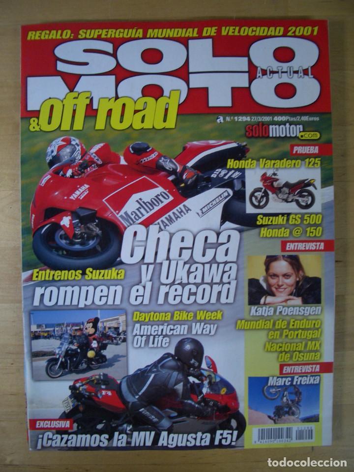 Coches y Motocicletas: Sueltas o LOTE 16 REVISTAS MOTOCICLISMO Y SOLO MOTO REVISTA MOTOS 96 - 97 - 98 - 2001 - 2002 - Foto 4 - 179313526