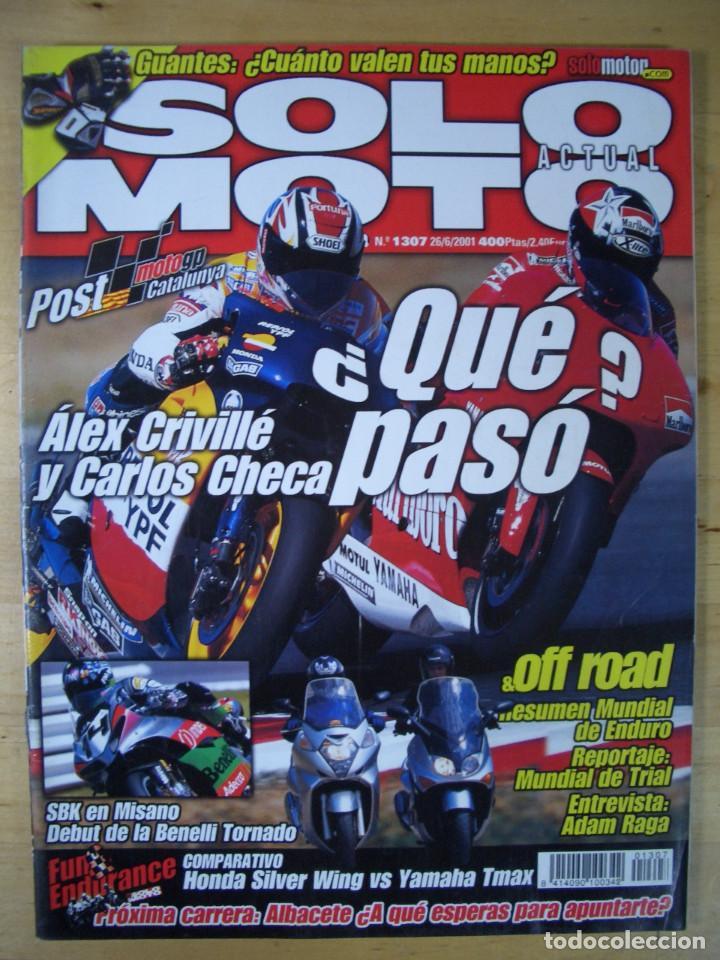 Coches y Motocicletas: Sueltas o LOTE 16 REVISTAS MOTOCICLISMO Y SOLO MOTO REVISTA MOTOS 96 - 97 - 98 - 2001 - 2002 - Foto 5 - 179313526