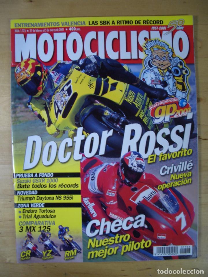 Coches y Motocicletas: Sueltas o LOTE 16 REVISTAS MOTOCICLISMO Y SOLO MOTO REVISTA MOTOS 96 - 97 - 98 - 2001 - 2002 - Foto 7 - 179313526