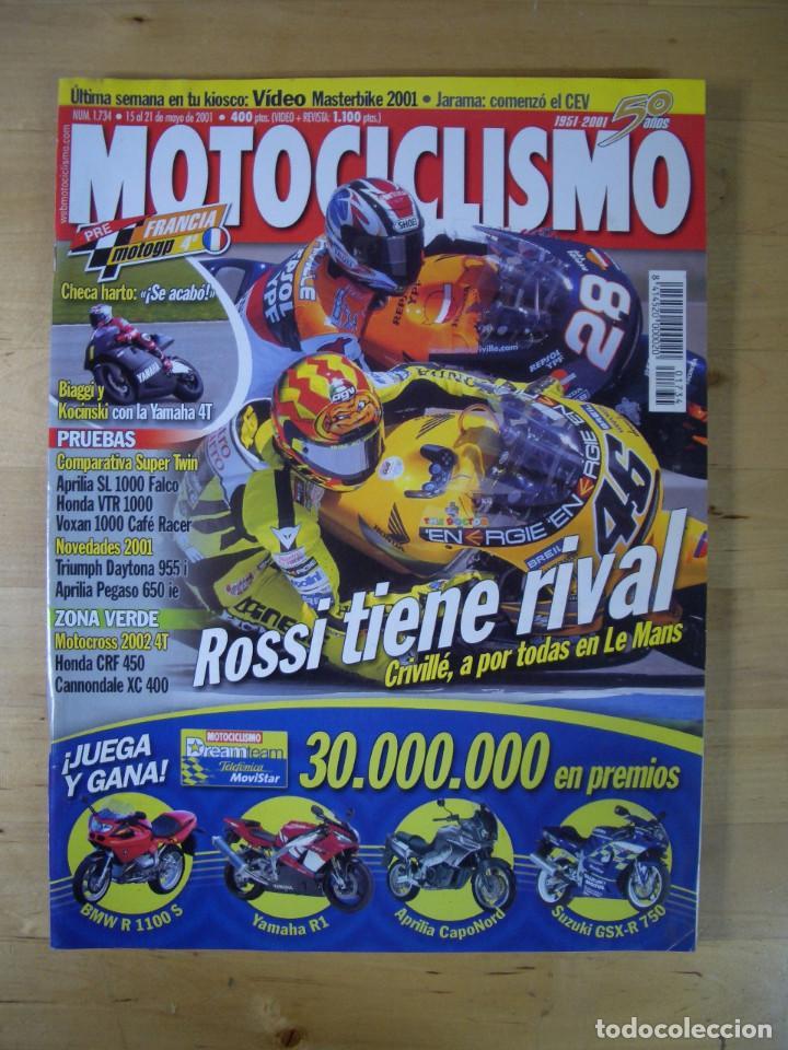 Coches y Motocicletas: Sueltas o LOTE 16 REVISTAS MOTOCICLISMO Y SOLO MOTO REVISTA MOTOS 96 - 97 - 98 - 2001 - 2002 - Foto 8 - 179313526