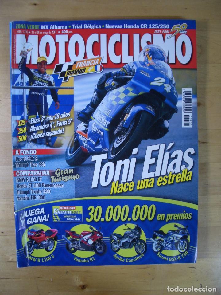 Coches y Motocicletas: Sueltas o LOTE 16 REVISTAS MOTOCICLISMO Y SOLO MOTO REVISTA MOTOS 96 - 97 - 98 - 2001 - 2002 - Foto 9 - 179313526