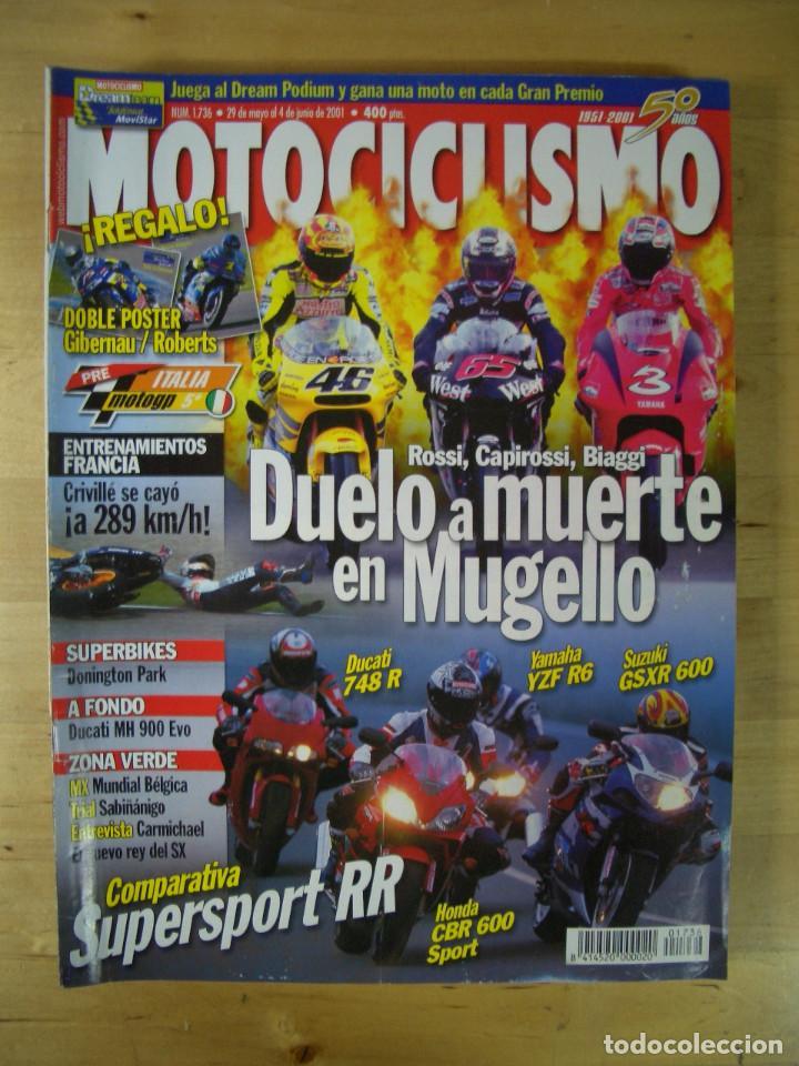 Coches y Motocicletas: Sueltas o LOTE 16 REVISTAS MOTOCICLISMO Y SOLO MOTO REVISTA MOTOS 96 - 97 - 98 - 2001 - 2002 - Foto 10 - 179313526
