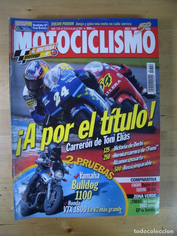Coches y Motocicletas: Sueltas o LOTE 16 REVISTAS MOTOCICLISMO Y SOLO MOTO REVISTA MOTOS 96 - 97 - 98 - 2001 - 2002 - Foto 12 - 179313526