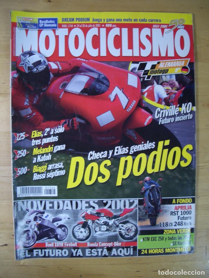 Coches y Motocicletas: Sueltas o LOTE 16 REVISTAS MOTOCICLISMO Y SOLO MOTO REVISTA MOTOS 96 - 97 - 98 - 2001 - 2002 - Foto 13 - 179313526