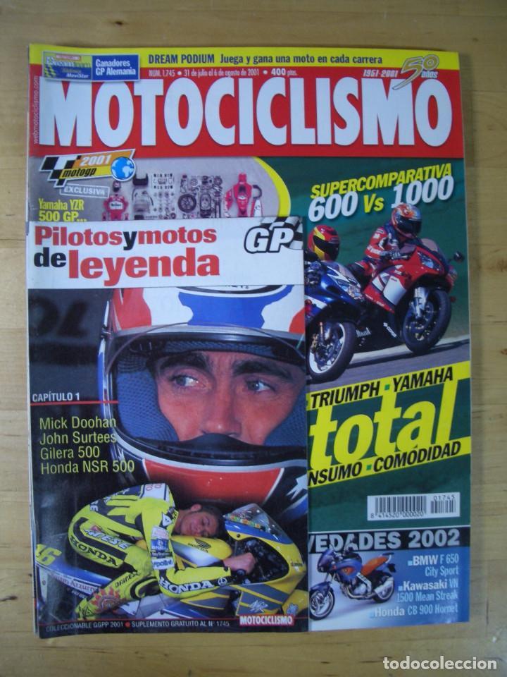 Coches y Motocicletas: Sueltas o LOTE 16 REVISTAS MOTOCICLISMO Y SOLO MOTO REVISTA MOTOS 96 - 97 - 98 - 2001 - 2002 - Foto 14 - 179313526