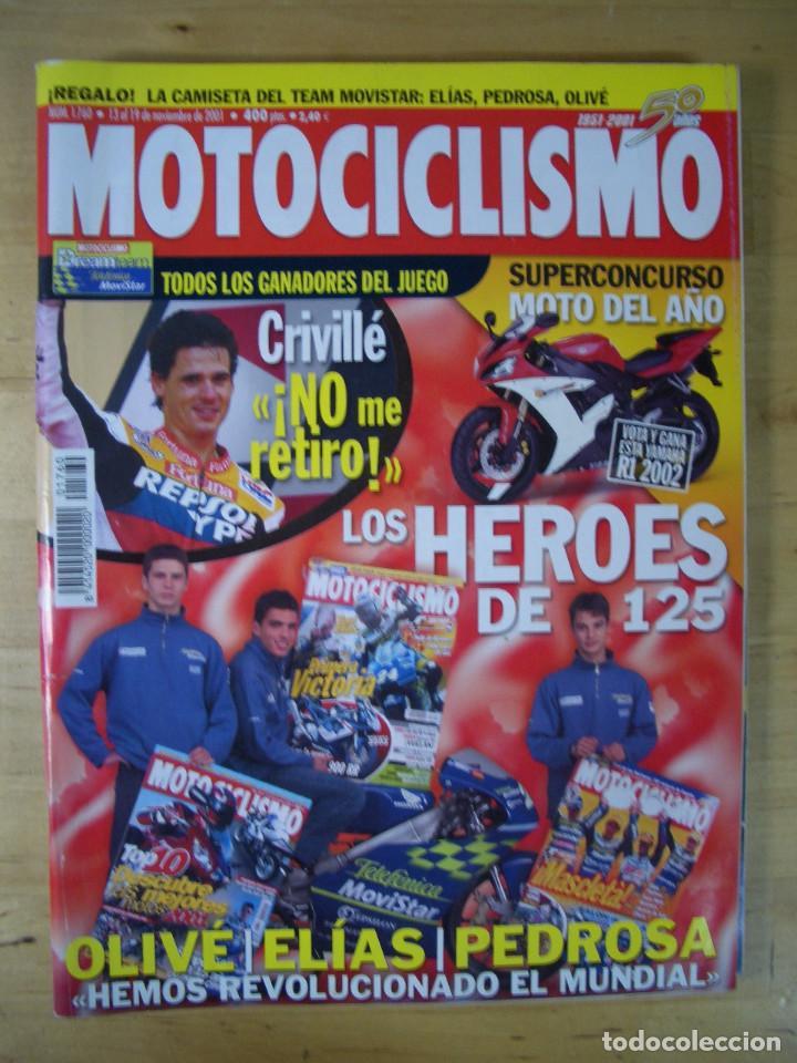 Coches y Motocicletas: Sueltas o LOTE 16 REVISTAS MOTOCICLISMO Y SOLO MOTO REVISTA MOTOS 96 - 97 - 98 - 2001 - 2002 - Foto 15 - 179313526