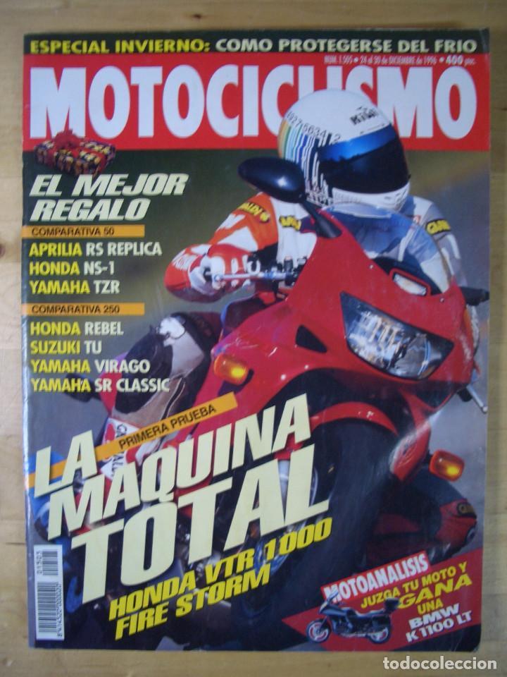 Coches y Motocicletas: Sueltas o LOTE 16 REVISTAS MOTOCICLISMO Y SOLO MOTO REVISTA MOTOS 96 - 97 - 98 - 2001 - 2002 - Foto 18 - 179313526