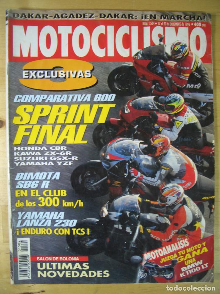 Coches y Motocicletas: Sueltas o LOTE 16 REVISTAS MOTOCICLISMO Y SOLO MOTO REVISTA MOTOS 96 - 97 - 98 - 2001 - 2002 - Foto 19 - 179313526