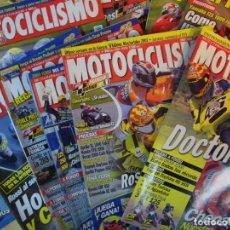 Coches y Motocicletas: SUELTAS O LOTE 19 REVISTAS MOTOCICLISMO Y SOLO MOTO REVISTA MOTOS 96 - 97 - 98 - 2001 - 2002. Lote 169740996