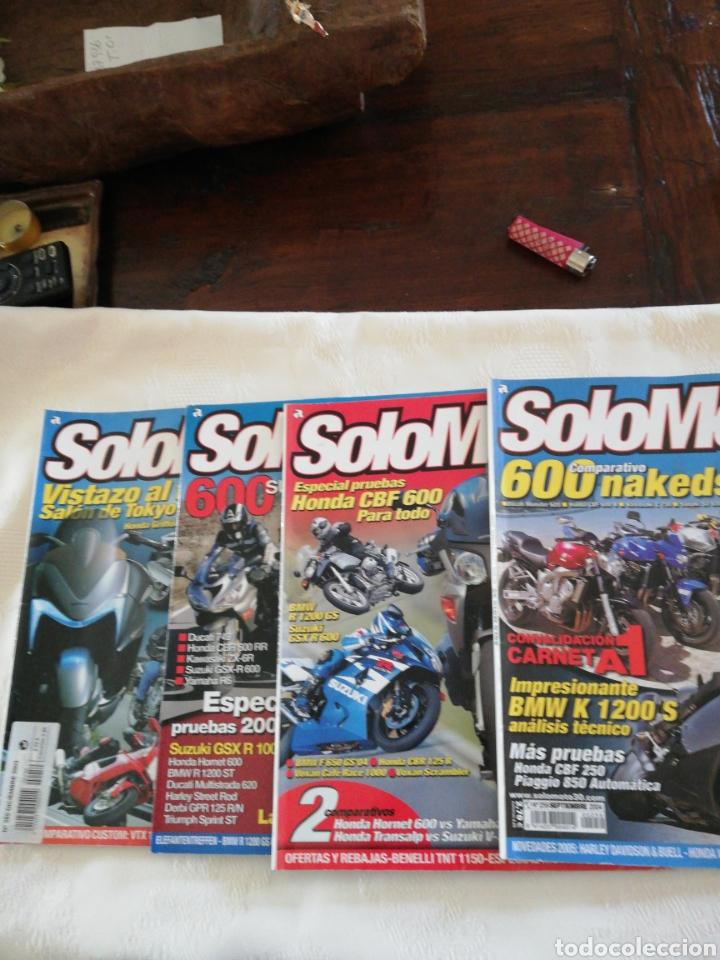 REVISTAS SOLO MOTO 30... LOTE DE 4 REVISTAS NÚMEROS 250,266,253,259 (Coches y Motocicletas - Revistas de Motos y Motocicletas)