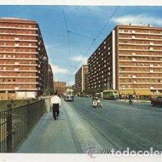 Coches y Motocicletas: POSTAL CIRCULADA // MADRID // LAMBRETTA CON SIDECAR. Lote 169917708