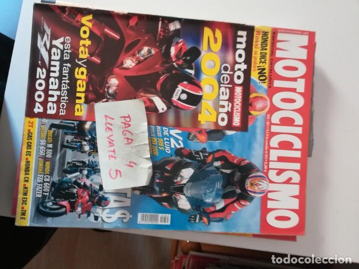 revista motociclismo 1865 * honda cb 600 f yamaha fz6 fazer + ducati m 800 * 69 segunda mano
