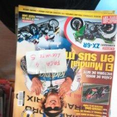 Coches y Motocicletas: REVISTA MOTOCICLISMO 1911 * KAWASAKI ZX-6R + BMW R 1200 GS + KAWASAKI ZX-6R * 69. Lote 170010968