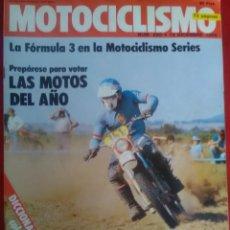 Coches y Motocicletas: MOTOCICLISMO N 685 (1980) YAMAHA TR1 , DERBI. JORGE MARTÍNEZ ASPAR. LAVERDA 500 MONTJUIC , BENELLI,. Lote 170012728