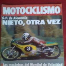 Coches y Motocicletas: MOTOCICLISMO N 704 . KAWASAKI Z 1100, HONDA CB 1100R , SUZUKI GSX 1100.. Lote 170013524