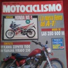 Coches y Motocicletas: MOTOCICLISMO N 1250. HONDA NS 1 , KAWASAKI ZEPHIR1100, YAMAHA VIRAGO 250 ,. Lote 170018616