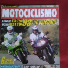 Coches y Motocicletas: MOTOCICLISMO N 1296. KAWASAKI ZXR 750 , SUZUKI GSX R 750 R , HARLEY NOSTALGIA. APRILIA. Lote 170019200