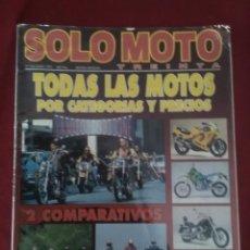 Coches y Motocicletas: SOLO MOTO N 124 LA MOTO EN EL CINE . Lote 170057424