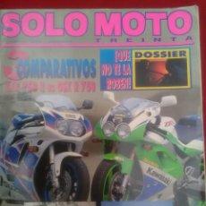 Coches y Motocicletas: SÓLO MOTO N 111. BMW K-1100 VS ST 1100. COMPARATIVAS YAMAHA SUZUKI DUCATI KAWASAKI. Lote 170058772