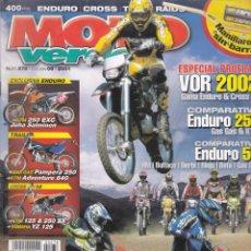 Coches y Motocicletas: REVISTA MOTO VERDE NUMERO 278 . Lote 170142472