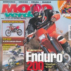 Coches y Motocicletas: REVISTA MOTO VERDE NUMERO 273 . Lote 170142780