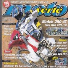 Coches y Motocicletas: REVISTA MOTO VERDE NUMERO 335 (FRANCESA). Lote 170143436