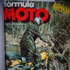 Coches y Motocicletas: REVISTA FORMULA MOTO ENCUADERNADA EN 3 TOMOS DEL NUMERO 1 AL 35 DE 1975 A 1977 OSSA MONTESA BULTACO. Lote 170193992