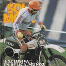 Coches y Motocicletas: REVISTA SOLO MOTO ACTUAL Nº 165 AÑO 1978. ENSAYO: HONDA 900 BLAYNAC. . Lote 170379888