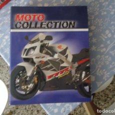 Coches y Motocicletas: ÁLBUM DE FICHAS MOTO COLLECTION DE ALTAYA. Lote 170421040