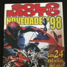 Voitures et Motocyclettes: SOLO MOTO ACTUAL - Nº 1125 - DIC 1997 - RIEJU RR SUPERMOTARD 50 HONDA XR 400 R KAWASAKI KLX 300 R. Lote 170492444