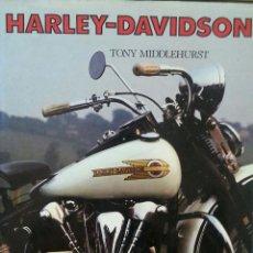 Coches y Motocicletas: LIBRO MOTO HARLEY DAVIDSON TONY MIDDLEHURST 1994 . Lote 170667035